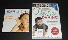 Toddler Bundle : Dada Da Vinci Vocabulary Builder Cd-Rom ; Abc Music + Me Cd