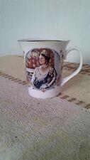 queen elizabeth ll commemorative 80th birthday cup by staffordshire