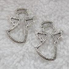 Free Ship 160 pieces tibet silver angel pendant 35x23mm #288