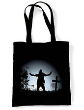 ZOMBIE TOTE  SHOULDER BAG - Night Of The Living Dead Goth  Zombies Halloween