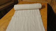 Homespun Linen Hemp/Flax Yardage 8.5 Yards x 18'' Plain  #4729