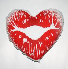 Cuscino cuore kiss personalizzato con foto e testo - idea regalo San Valentino
