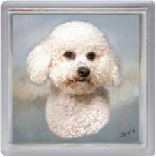 Bichon Frise Dog Coaster No 4 by Starprint