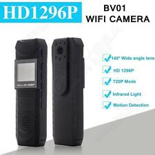 1296P HD Body Personal Security & Police Camera Pen Camcorder 140 Degree 4000mAh