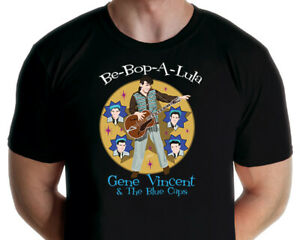 Gene Vincent and the Blue Caps T-shirt (Jarod Art Design)