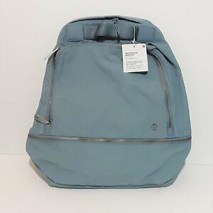 LULULEMON City Adventurer Minimalist Backpack Women's Chambray Blue Bag 17L NWT