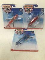 Lot Of 3 2019 MATCHBOX SKY BUSTERS Chinook CH-47 Airbus H130 & Sikorsky S-92
