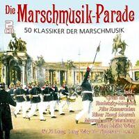 DIE MARSCHMUSIK-PARADE - 50 KLASSIKER 2 CD NEU