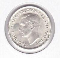 CB500) Australia 1944S Florin. Choice uncirculated. Superb original lustred coin