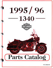 1995 & 1996 HARLEY-DAVIDSON 1340 MODELS PARTS CATALOG MANUAL -SOFTAIL-FLT-DYNA
