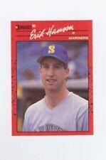 1990 Donruss Baseball card #345 Erik Hanson Mariners