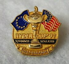 New listing RYDER CUP '97 - Valderrama - Johnnie Walker - Golf - PIN BADGE