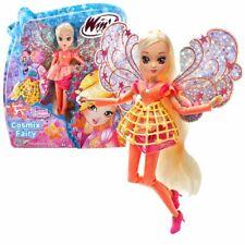 Stella | Cosmix Fairy Puppe | Winx Club | mit beweglichen holografischen Flügeln
