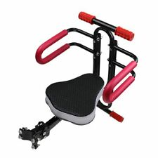 Bicycle Child Safety Seat Bike Carrier Mounted with Handrail Peadal Soft Cushion