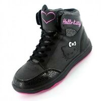 Girls Hello Kitty Rosefinch Hi Top Trainers Boots Shoe Sizes 10-2