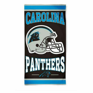 """CAROLINA PANTHERS 30"""" X 60"""" BEACH TOWEL NEW & OFFICIALLY LICENSED"""