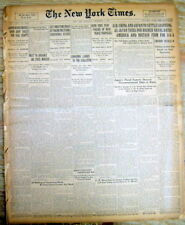 <3 1921 newspapers BLUEBEARD Serial Woman Killer HENRI LANDRU GUILTY  Guillotine
