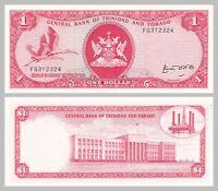 Trinidad und Tobago / Trinidad and Tobago 1 Dollar 1977 p30b unz.