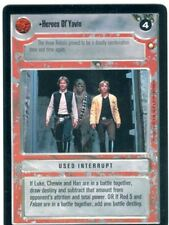 Star Wars CCG Special Edition Heroes Of Yavin