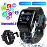 2 in 1 Bluetooth 5.0 TWS Earbuds Headset + IP67 Waterproof Smart Watch Wristband