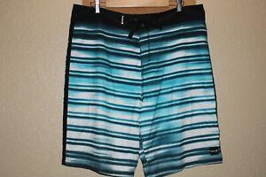"HURLEY Mens 38"" Waist Recycler Boardshorts/Surf/Swim"