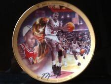 """Michael Jordan """"1991 Championship"""" Collectors Plate Upper Deck"""