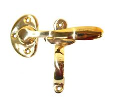 Ice Box Latch Reversible for Oak Icebox Hardware Heavy Solid Brass Casting