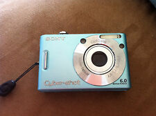 Sony DSC-W30 Cybershot 6MP 32MB Internal Digital Camera GOOD condition