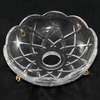 BOBECHE IN CRISTALLO PER RICAMBIO LAMPADARIO E APPLIQUES mm. 100 - Foro C. 24+4