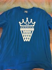 Under Armour Crown Basketball Net King Lebron James T Shirt 2X LOOSE Scissors