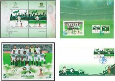 Saudi Arabia FIFA World Cup Russia 2018 MiniSheet,Miniature Sheet, Card, FDC MNH