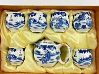 Chinese Tea Ceremony Ceramic China Tea Pot Tea 6 Cup Set NEW