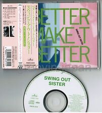 "SWING OUT SISTER Better Make It Better JAPAN 5"" MAXI CD w/OBI+PS PHCR-8314 FreeS"