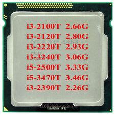 Intel Core i3-2100T i3-3220T i3-3240T i5-2390T i5-2500T i5-3470T i3-2120T CPU