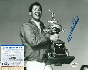 MARIO ANDRETTI Autographed Signed 8x10 Photo - PSA/DNA COA - Racing Legend