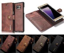 Luxus Flip Leder Removable Handy Tasche Schutz Hülle Case Cover Etui Bumper (MC)