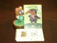 Nintendo Animal Crossing Amiibo Card Olaf the Smug Anteater New Horizons