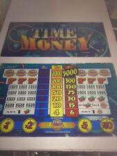 Glas Scheiben für ATRONIC Slotmachine / Einarmiger Bandit  TIME for Money
