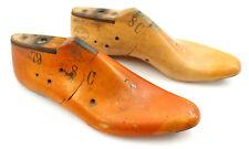 Antique SLIDE-O-MATIC Wood Shoe Mold  Size 8 C United Last Co 1957