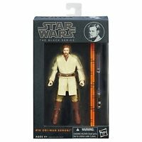 "Hasbro Star Wars The Black Series 6"" W1/14 #10 Obi-Wan Kenobi Action Figure"
