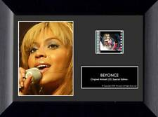 """BEYONCE KNOWLES R&B Pop Soul Artist FRAMED MUSIC FILM CELL and PHOTO 5"""" x 7"""" New"""