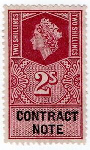 (I.B) Elizabeth II Revenue : Contract Note 2/-