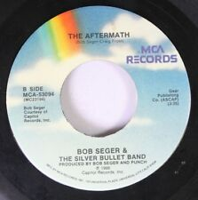 Rock 45 Bob Deger & The Silver Bullet Band - The Aftermath / Shakedown On Mca Re