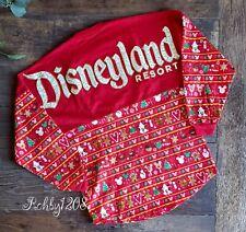 Disney Disneyland Holiday Snacks Sugar Cookie Red Christmas Spirit Jersey Xs