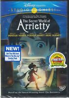 [new!] The Secret World of Arrietty (DVD, 2012) (based on the Borrowers)