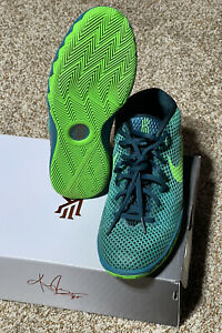 """NEW IN BOX - Nike Kyrie 1 """"Australia"""" Teal Green Emerald 717219-333 GS (Size 6.5"""