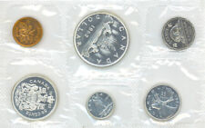 Canada 1962 Proof Like Uncirculated Set 1.1 OZ Pure Silver