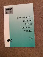 The Health of The UK's Elderly People 1994  - Medical Research Council