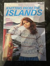 Patons - Knitting From The Islands Book 245 ***Free Postage ***