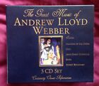 THE GREAT MUSIC OF ANDREW LLOYD WEBBER 3CD BOX SET